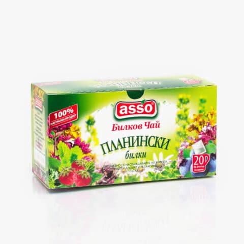 Билков чай - Планински билки