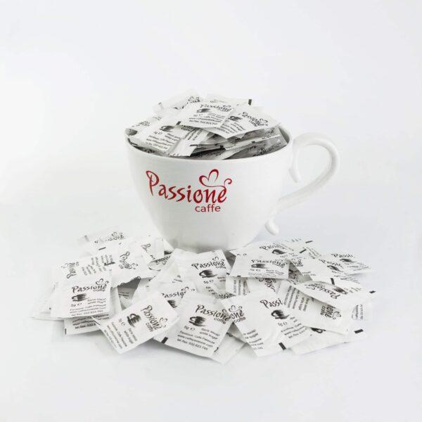 Бяла захар Пасионе = 320 бр. 5 гр. = 1,600 кг.