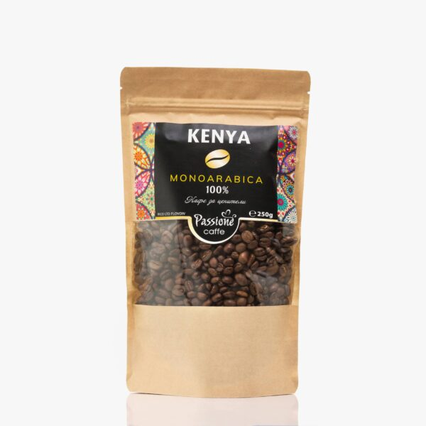 Кафе моноарабика Кения 250 гр. на зърна