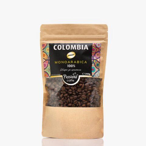 Кафе моноарабика Колумбия 250 гр. на зърна