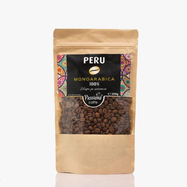 Кафе моноарабика Перу 250 гр. на зърна