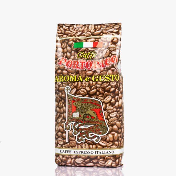 Кафе Порторико Арома е Густо 1 кг. на зърна