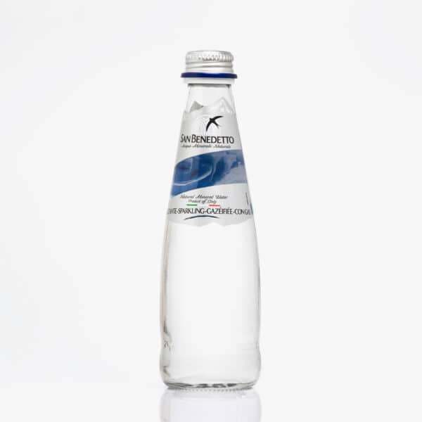 Минерална газирана вода Сан Бенедето 0,250 л. стъкло