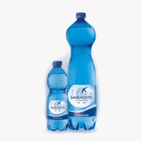 Минерална натурална вода Сан Бенедето1,5л. РЕТ