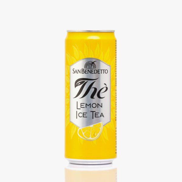 Студен чай Сан Бенедето лимон 0,330 л. кен