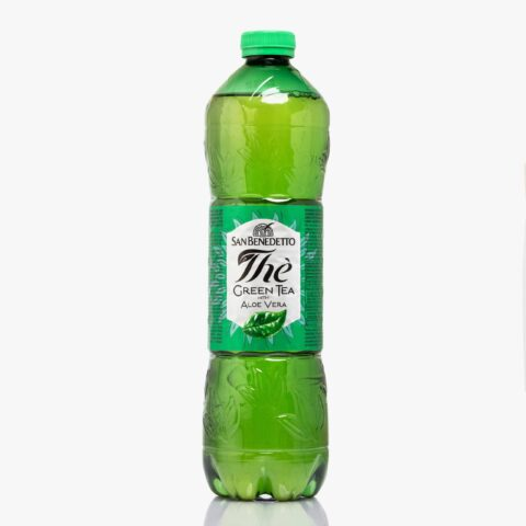 Студен чай Сан Бенедето зелен чай 1,500 л. РЕТ